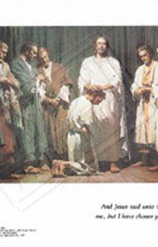 Jesus ordains his apostles