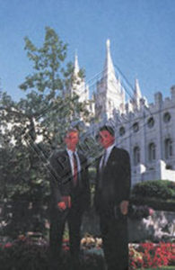 Missionary at temple